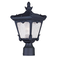 Livex Lighting Millstone 1 Light Outdoor Post Head in Black 7991-04