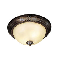 Livex Lighting Signature 3 Light Ceiling Mount in Natural Iron 8115-43