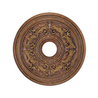 Livex Lighting Ceiling Medallion Accessory in Crackled Greek Bronze 8200-30