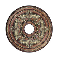 Livex 8200-64 Ceiling Medallion Palacial Bronze with Gilded Accents Accessory