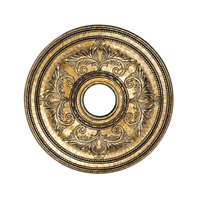 Livex 8200-65 Ceiling Medallion Vintage Gold Leaf Accessory