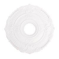 Livex 82030-03 Buckingham White Ceiling Medallion