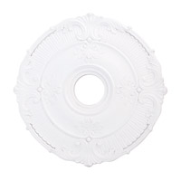 Livex 82031-03 Buckingham White Ceiling Medallion