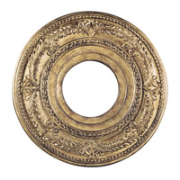 Livex Lighting Ceiling Medallion Accessory in Vintage Gold Leaf 8204-65