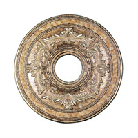 Ceiling Medallion Vintage Gold Leaf Accessory