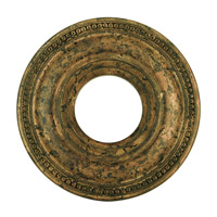 Livex 82072-71 Wingate Hand Applied Venetian Golden Bronze Ceiling Medallion