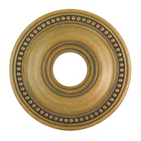 Livex 82073-48 Wingate Hand Painted Antique Gold Leaf Ceiling Medallion