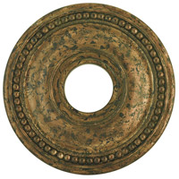 Livex 82073-71 Wingate Hand Applied Venetian Golden Bronze Ceiling Medallion