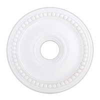 Livex 82074-03 Wingate White Ceiling Medallion photo thumbnail