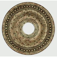 Livex 82074-36 Wingate Hand Applied European Bronze Ceiling Medallion