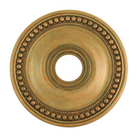 Livex 82074-48 Wingate Hand Painted Antique Gold Leaf Ceiling Medallion