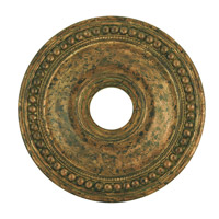 Livex 82074-71 Wingate Hand Applied Venetian Golden Bronze Ceiling Medallion