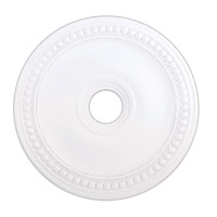 Livex 82075-03 Wingate White Ceiling Medallion photo thumbnail