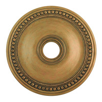 Livex 82075-48 Wingate Hand Painted Antique Gold Leaf Ceiling Medallion