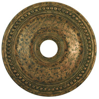 Livex Wingate Ceiling Medallion in Hand Applied Venetian Golden Bronze 82075-71