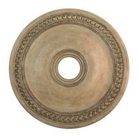 Livex Lighting 82075-73 Wingate Hand Painted Antique Silver Leaf Ceiling Medallion