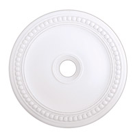Livex 82076-03 Wingate White Ceiling Medallion