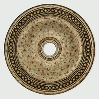 Livex 82076-36 Wingate Hand Applied European Bronze Ceiling Medallion
