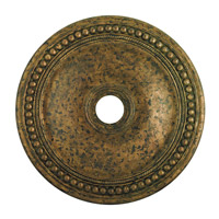 Livex 82076-71 Wingate Hand Applied Venetian Golden Bronze Ceiling Medallion