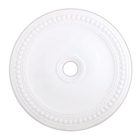 Livex 82077-03 Wingate White Ceiling Medallion