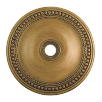 Livex 82077-48 Wingate Hand Painted Antique Gold Leaf Ceiling Medallion