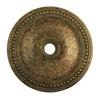 Livex 82077-71 Wingate Hand Applied Venetian Golden Bronze Ceiling Medallion