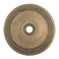 Livex Lighting 82077-73 Wingate Hand Painted Antique Silver Leaf Ceiling Medallion