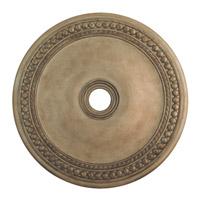 Livex 82077-73 Wingate Hand Painted Antique Silver Leaf Ceiling Medallion