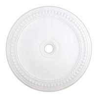 Livex 82078-03 Wingate White Ceiling Medallion
