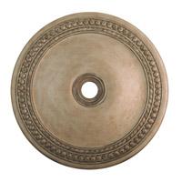 Livex 82078-73 Wingate Hand Painted Antique Silver Leaf Ceiling Medallion