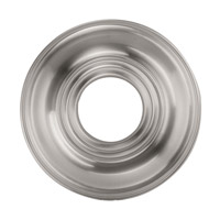 Livex 8209-91 Ceiling Medallion Brushed Nickel Accessory