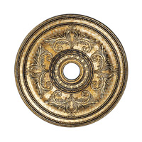 Livex 8210-65 Ceiling Medallion Vintage Gold Leaf Accessory