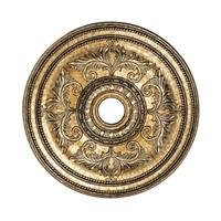 Livex 8210-65 Ceiling Medallion Vintage Gold Leaf Accessory