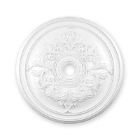 Livex 8211-03 Ceiling Medallion White Accessory photo thumbnail