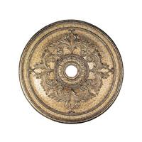 Livex 8211-65 Ceiling Medallion Vintage Gold Leaf Accessory