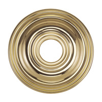 Livex Lighting Ceiling Medallion Accessory in Polished Brass 8217-02