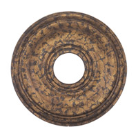 Ceiling Medallion Venetian Golden Bronze Accessory