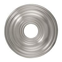 Livex 8217-91 Ceiling Medallion Brushed Nickel Accessory