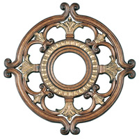 Livex 8218-57 Ceiling Medallion Venetian Patina Accessory