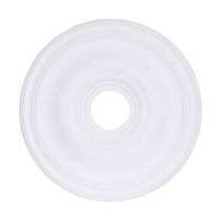 Livex 8219-03 Signature White Ceiling Medallion