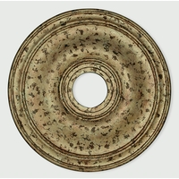 Livex 8219-36 Wingate Hand Applied European Bronze Ceiling Medallion
