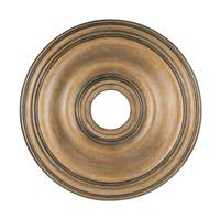 Livex 8219-48 Signature Antique Gold Leaf Ceiling Medallion
