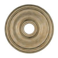 Livex 8219-73 Signature Antique Silver Leaf Ceiling Medallion