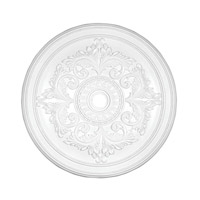 Livex 8228-03 Ceiling Medallion White Accessory