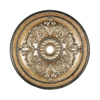 Livex Lighting Ceiling Medallion Accessory in Vintage Gold Leaf 8228-65