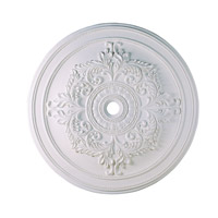 Ceiling Medallion White Accessory