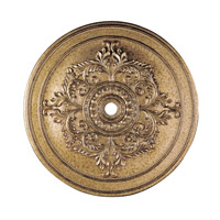 Livex 8229-65 Ceiling Medallion Vintage Gold Leaf Accessory