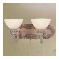 Livex Lighting Salerno 2 Light Bath Light in Crackled Antique Ivory 8265-87