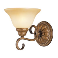 Livex Lighting Bistro 1 Light Bath Light in Venetian Patina 8281-57