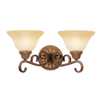 Livex Lighting Bistro 2 Light Bath Light in Venetian Patina 8282-57